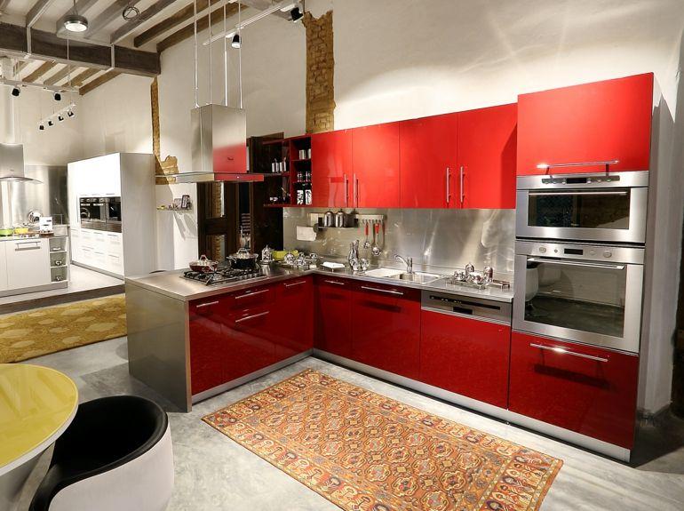 cocinas pequeas en forma de l estupenda cocina moderna forma ele - Cocinas En Ele