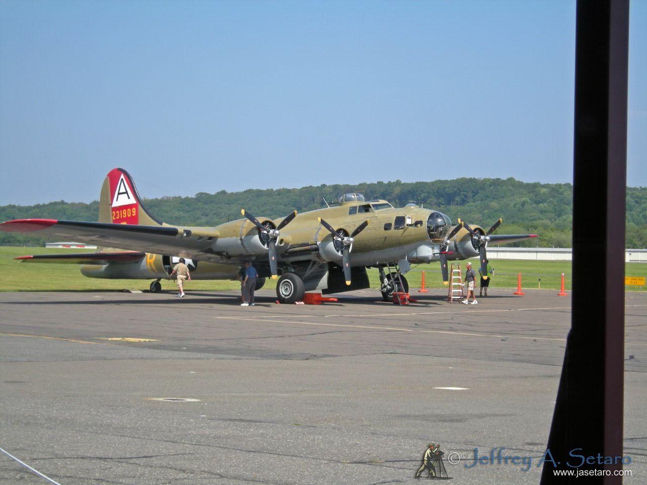 "Collings Foundation Boeing B-17G Flying Fortress ""Nine O Nine""."