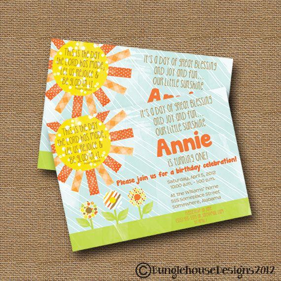 Sunshine Birthday Invitation Sunshine Party Sunshine Baby Shower - fresh birthday party invitation ideas wording