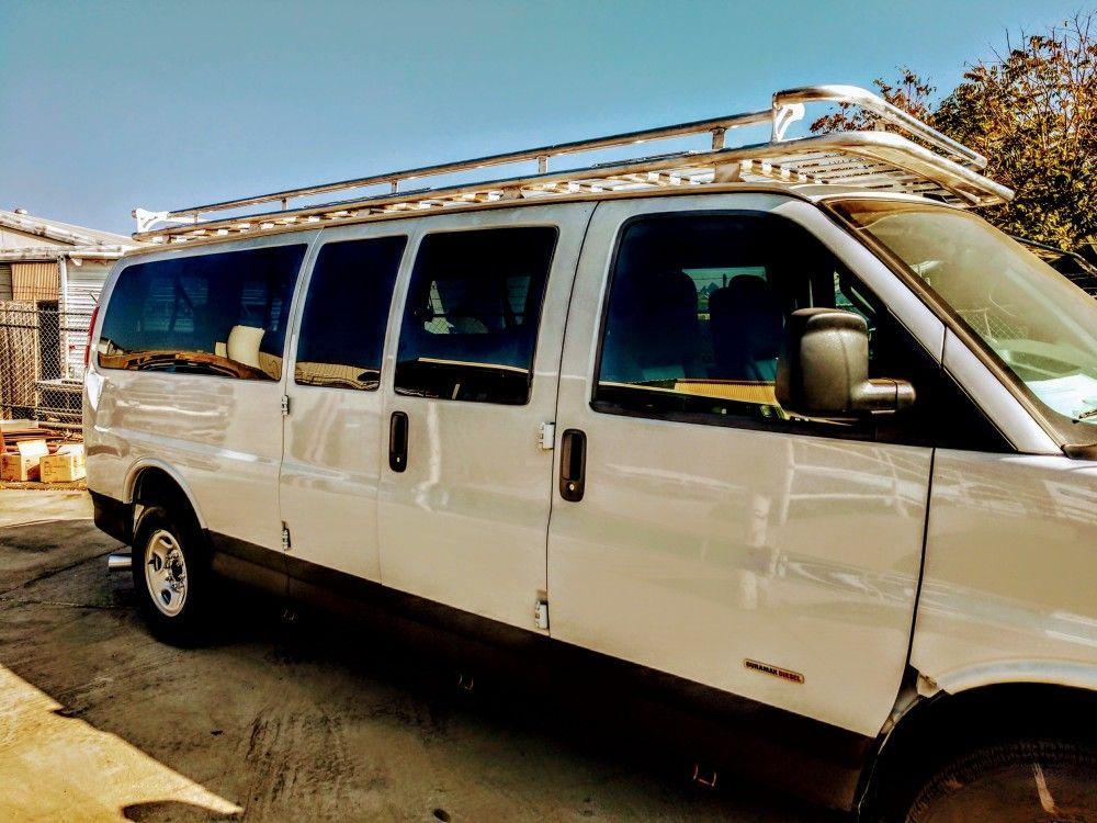 Chevrolet express aluminum roof rack 4x4 van, Aluminum