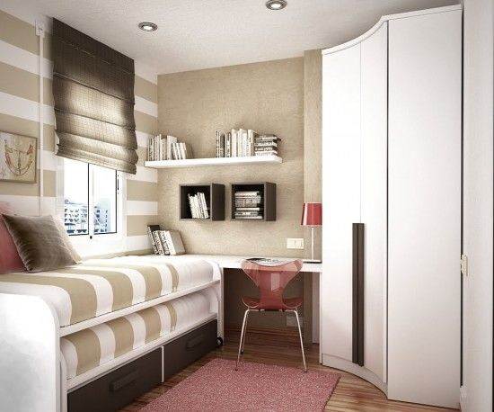 Interior Design For Bedroom Small Space Pleasing Brown Kids Room Space Saving Ideas  More And More Decor Design Inspiration