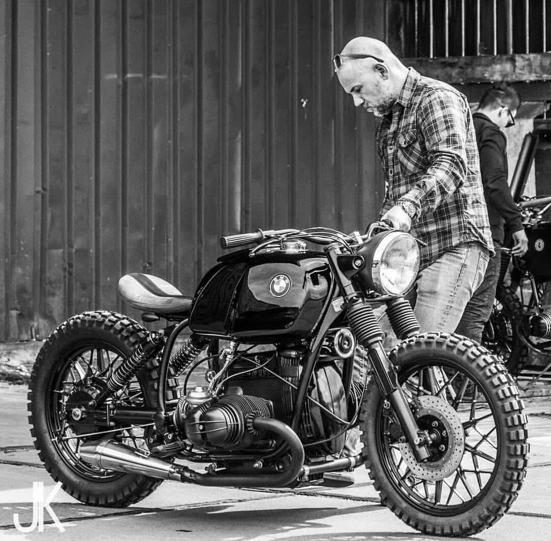 bmw custom cafe racer biker pinterest bmw motorrad. Black Bedroom Furniture Sets. Home Design Ideas
