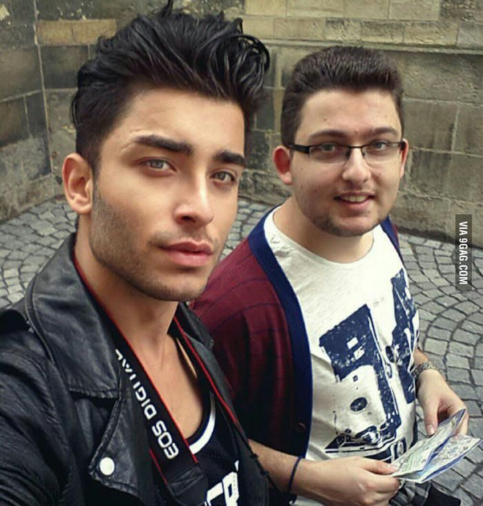 When you feel bad remember these two guys are brothers