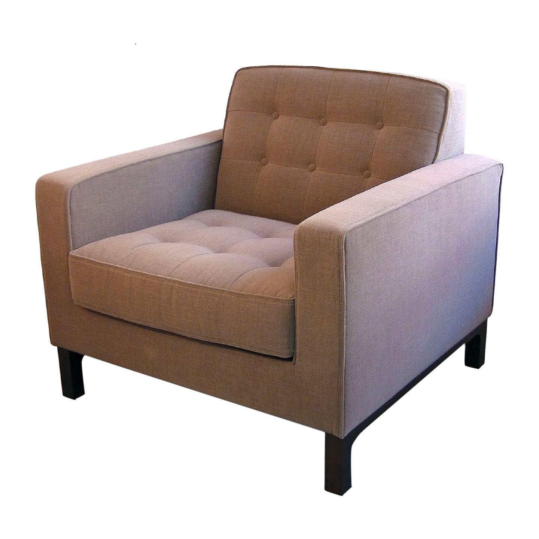 Capiton Armchair | Armchair, Mid century modern armchair ...
