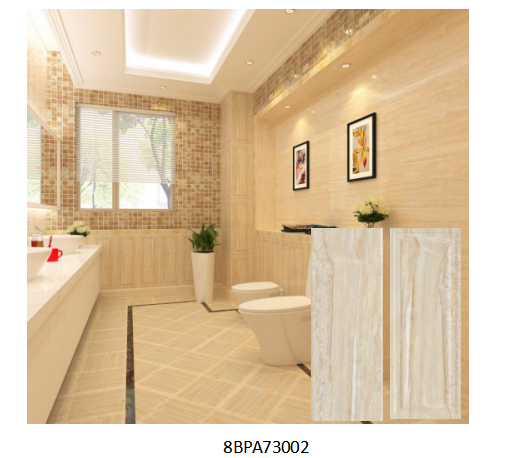 Type Ceramic Wall Tile Size 270x730mm Thickness 10mm Water