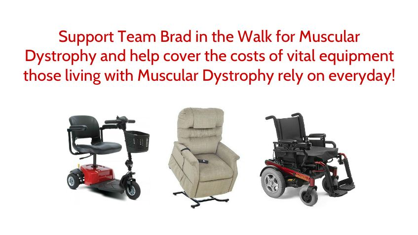 Help make a difference in the lives of over 50,000 Canadians affected by muscular dystrophy today. Copy and paste muscle.akaraisin.com/DurhamWMD2014/BradMiller2014