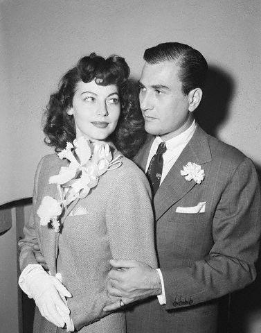 Ava Gardner married Artie Shaw 1945-1946