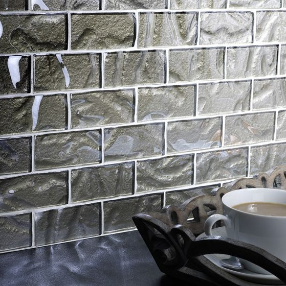 Autumn Sparkle Glass Brick Mosaic 48x98mm Buy Now At Horncastle Tiles For Lowest UK Prices!