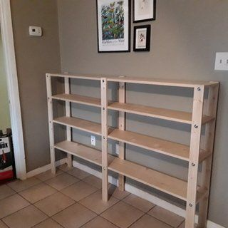 Photo of Cheap, Easy, Low-waste Bookshelf Plans