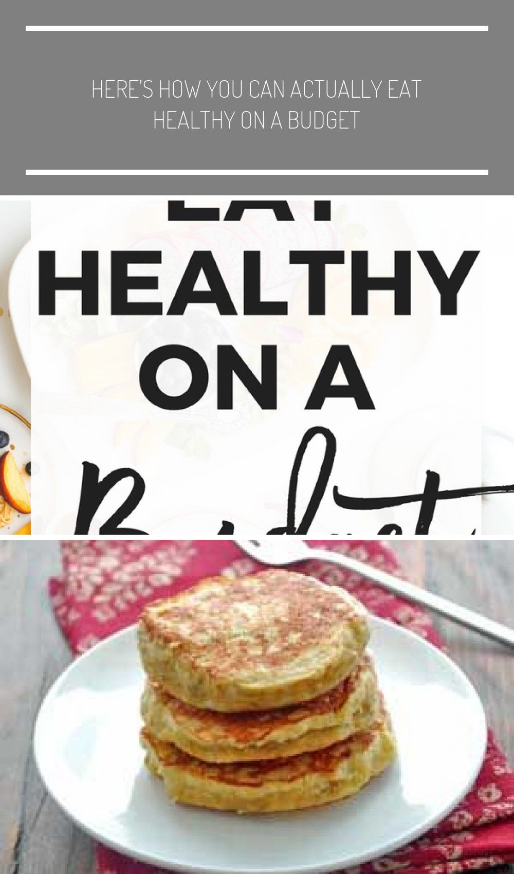 How to Eat Healthy on a Budget | Eating healthy can be a challenge, as can eating on a budget. Unfor...