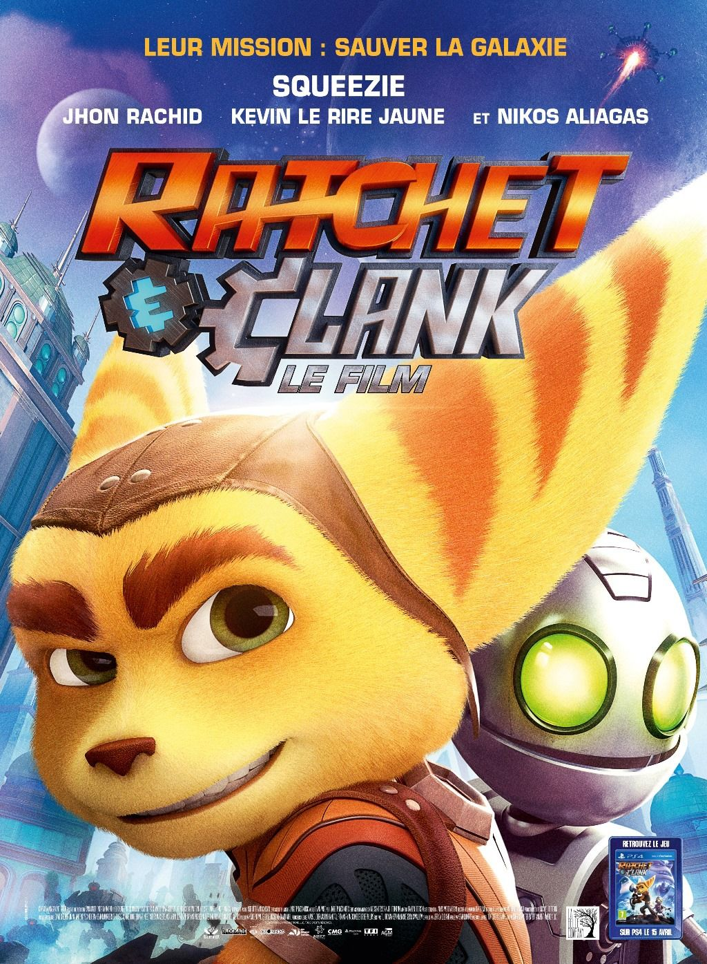 Ratchet Clank Trailer Images And Posters Ratchet Animated Movie Posters Jak Daxter