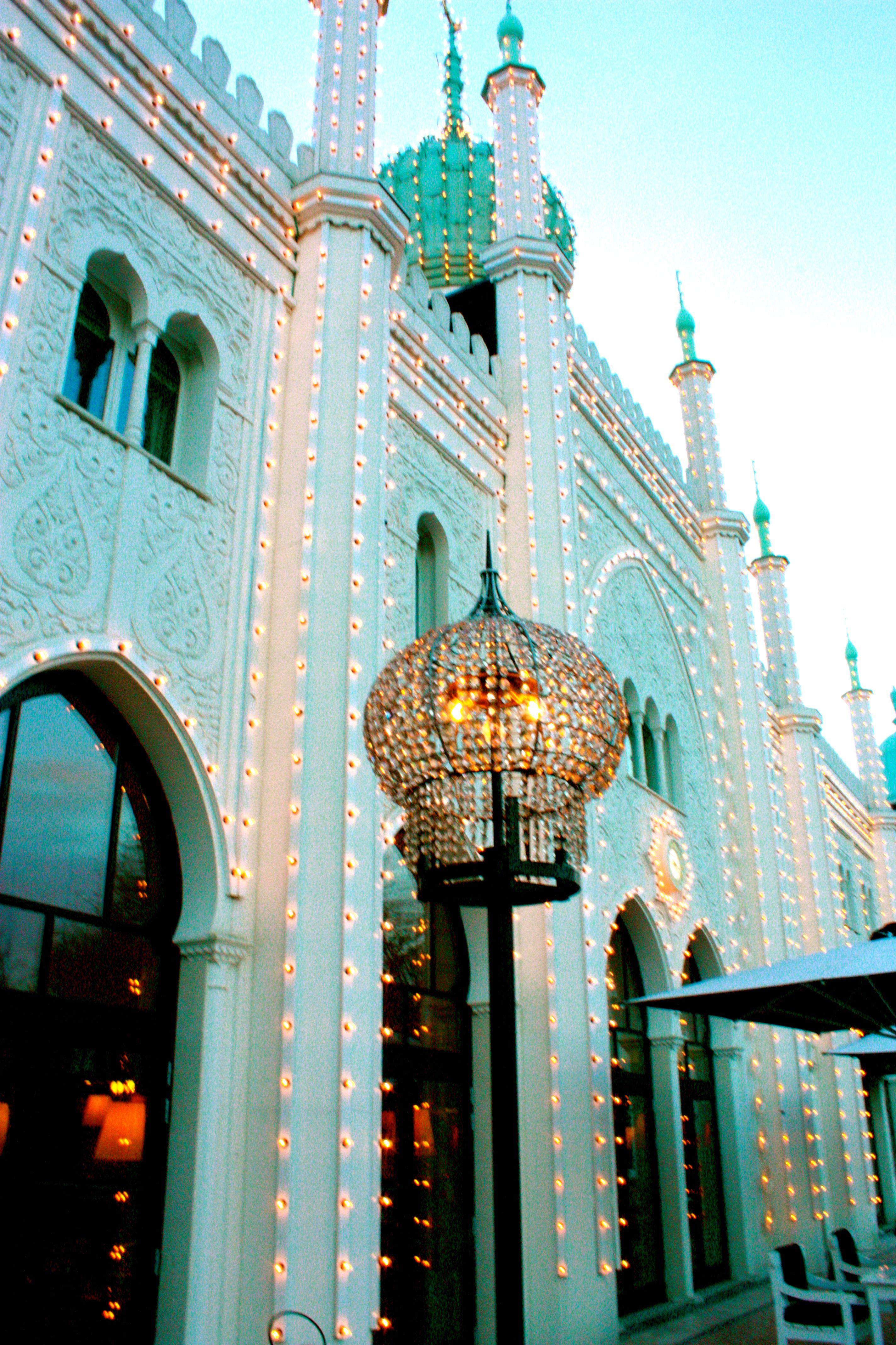 Tivoli Gardens Copenhagen, Denmark.  A blog by Lynn about lighting fixtures around the world.