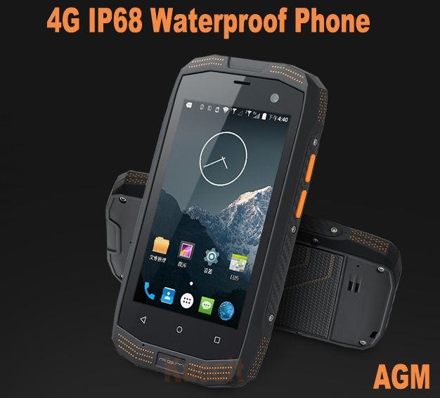2016 Original Unlocked Cell Phone Smartphone Rugged Android Ip68 Waterproof Dustproof Cdma2000 4g Lte Gps Nfc Cat Agm Mann