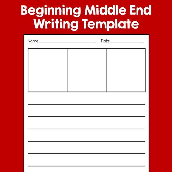 These FREE writing templates are perfect when introducing Beginning ...