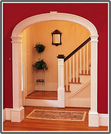 Kitchen arch designs inside home