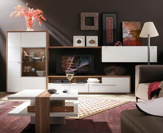 Hülsta Wohnzimmer Pinterest - wohnzimmer nussbaum weis