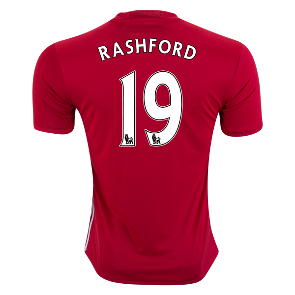Manchester United 16 17 Marcus Rashford Home Soccer Jersey Check Out The Latest British Premier League So Premier League Soccer British Premier League Jersey