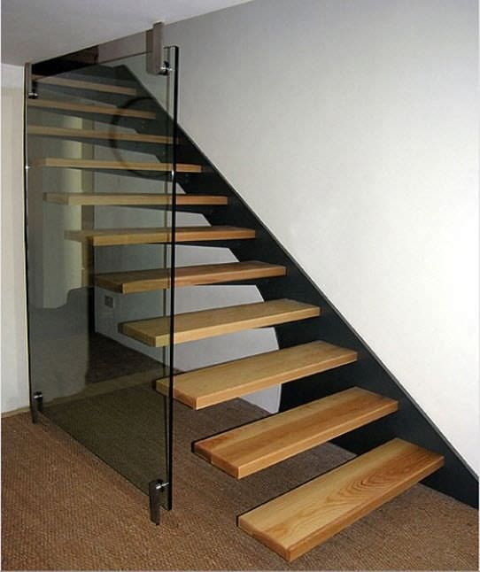 Floating Stair Tread Brackets Google Search