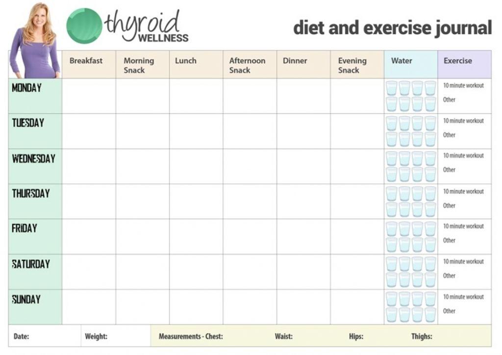 Diet And Exercise Calendar Template Workout Calendar Calendar