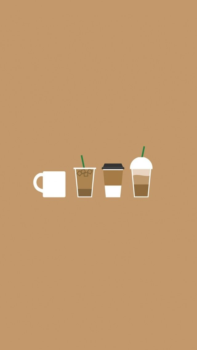 Coffee illustration coffee as a2 support sheet coffee - Cute coffee wallpaper ...