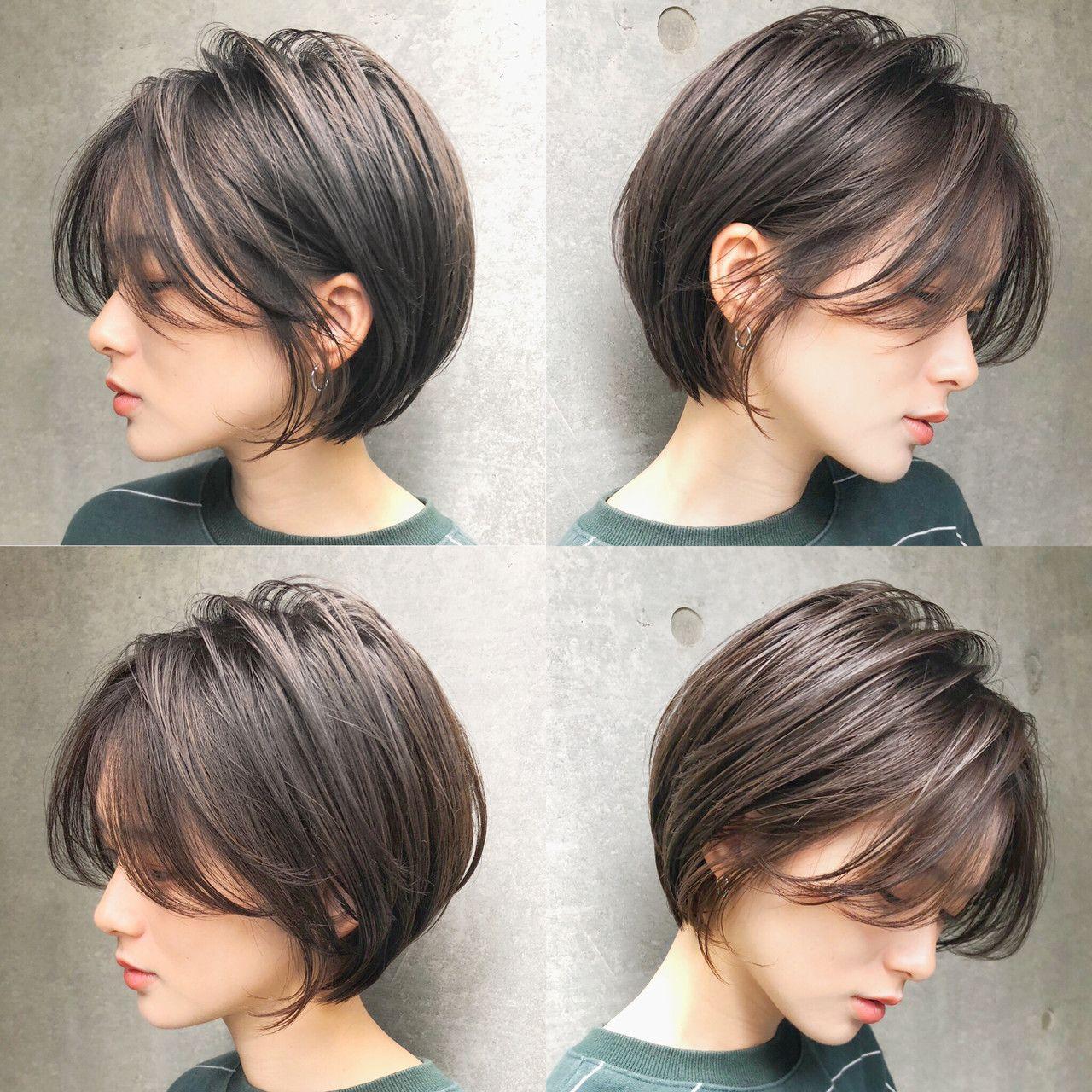 おしゃれに見える ショート ロングまでの髪型 アレンジ集 短い髪