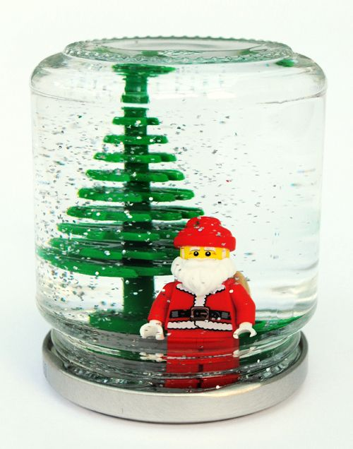 Note To Self For Next Christmas Make This Craft With Lego Santa