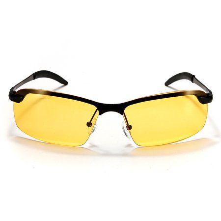 8163d8e4347 mtqsun Yellow Lens UV Protection Polarized Night Vision Glasses Eyeglasses  Anti-Glare Driving Sunglasses driving glasses Sport Outdoor Riding Goggle