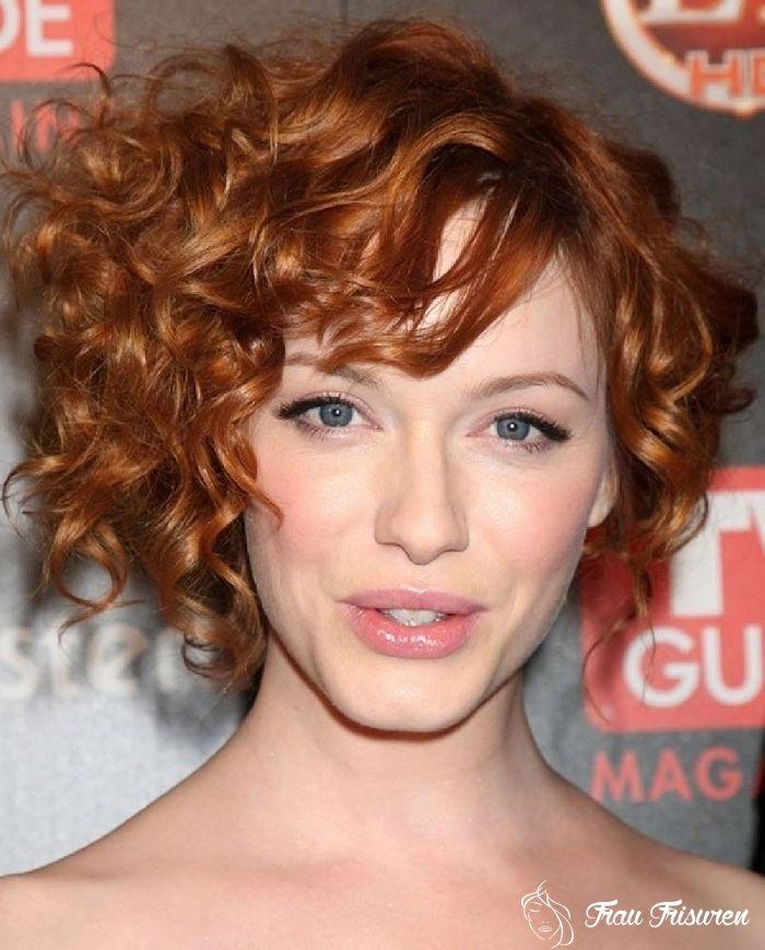 kurze frisuren für lockiges haar   curly hair styles, hair