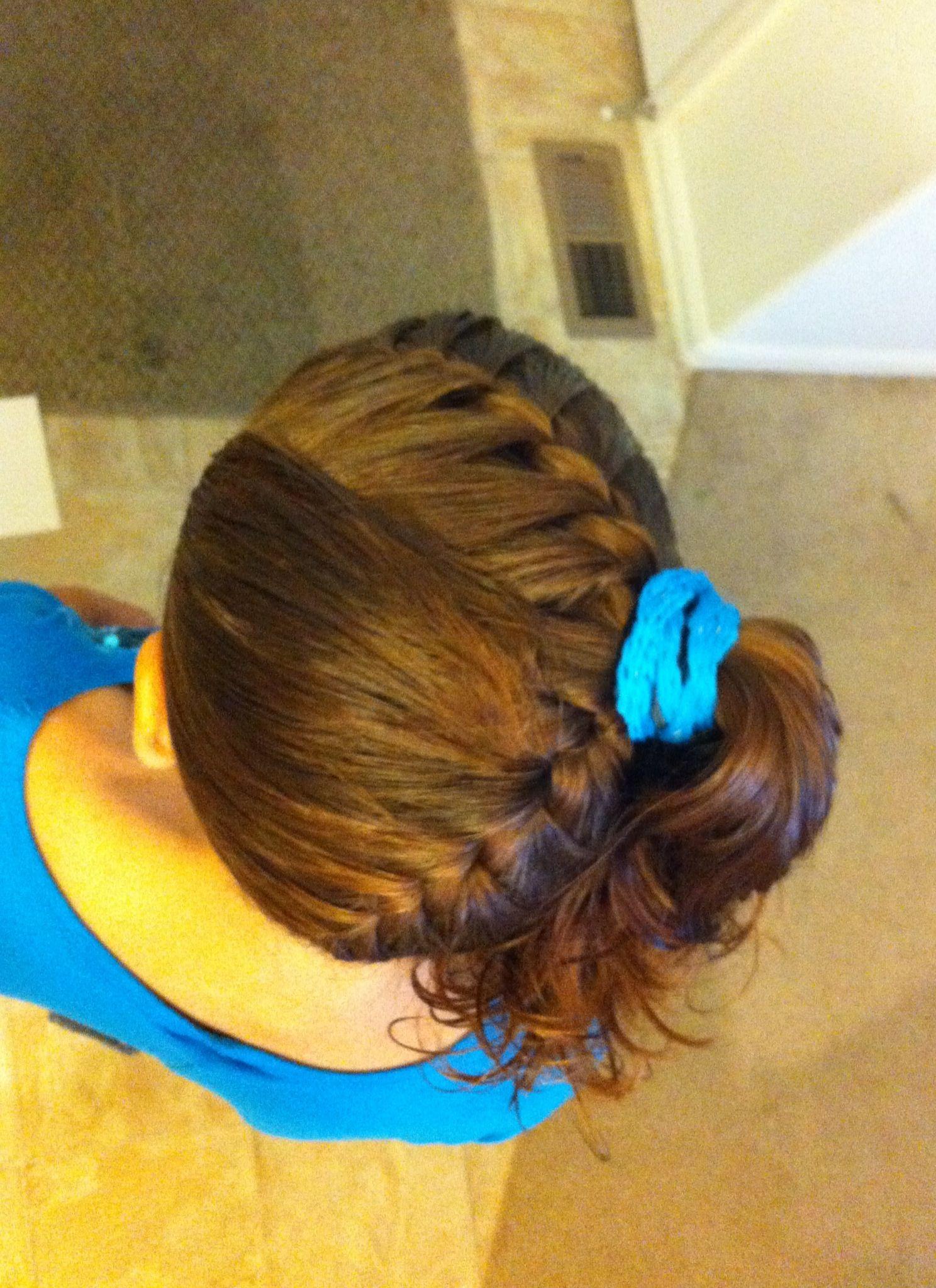 Loose French Braid Kids Hair