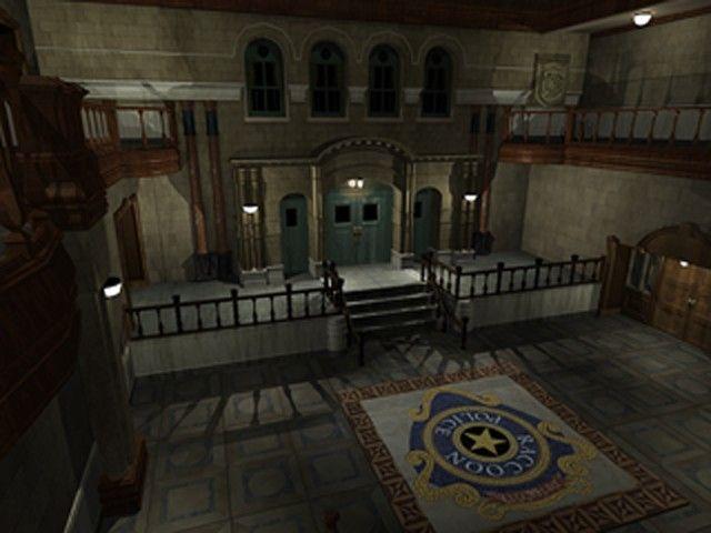 Raccoon City Police Departament Hall Resident Evil 2