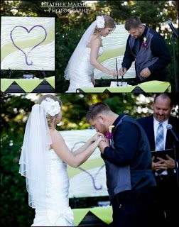 heart unity paint wedding   Wood Branding : So awesome for the rustic bride! Who doesn't love a ...