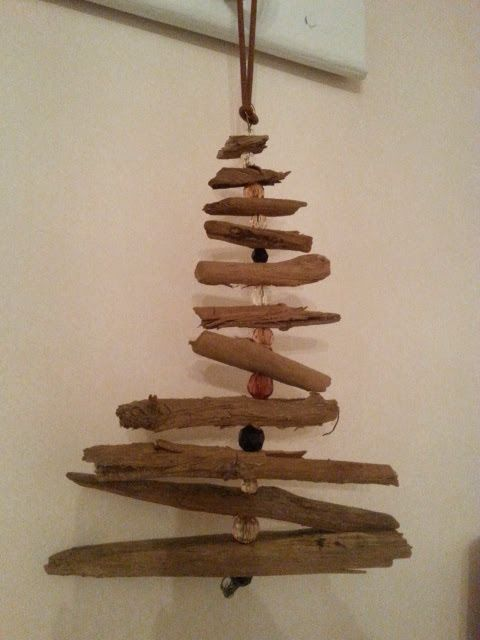 DIY driftwood tree