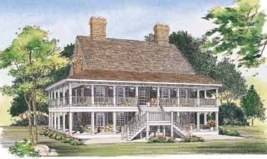 Wrap Around Porch Both Levels Swoon Porch House Plans Country Style House Plans Country House Plans