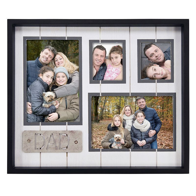New View 4 Opening Dad Collage Frame Products Pinterest