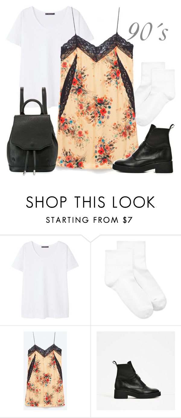 """Sin título #1659"" by greta-greta ❤ liked on Polyvore featuring Violeta by Mango, Hue and rag & bone"