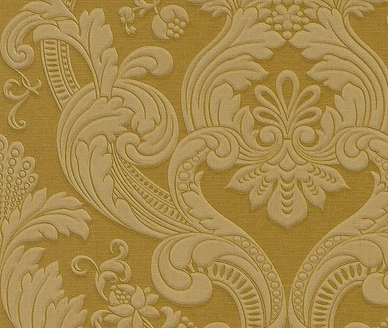 trianon neo barock retro polyethylen tapete gelb 505269 home style pinterest tapeten. Black Bedroom Furniture Sets. Home Design Ideas