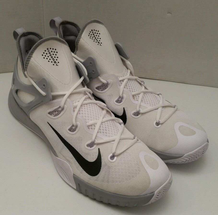 NIKE ZOOM HYPERREV Basketball Athletic Shoes Men Size 17 US White  742247-101 New #