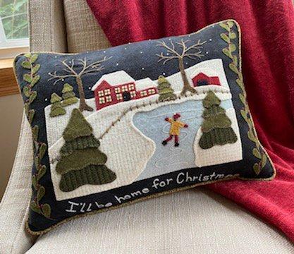 Home for Christmas DIGITAL DOWNLOAD Pattern - Karen Yaffe