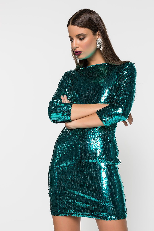 66659d267280 👑 Glamorous φόρεμα με παγιέτα απο τα Bettina Stores!! 👑