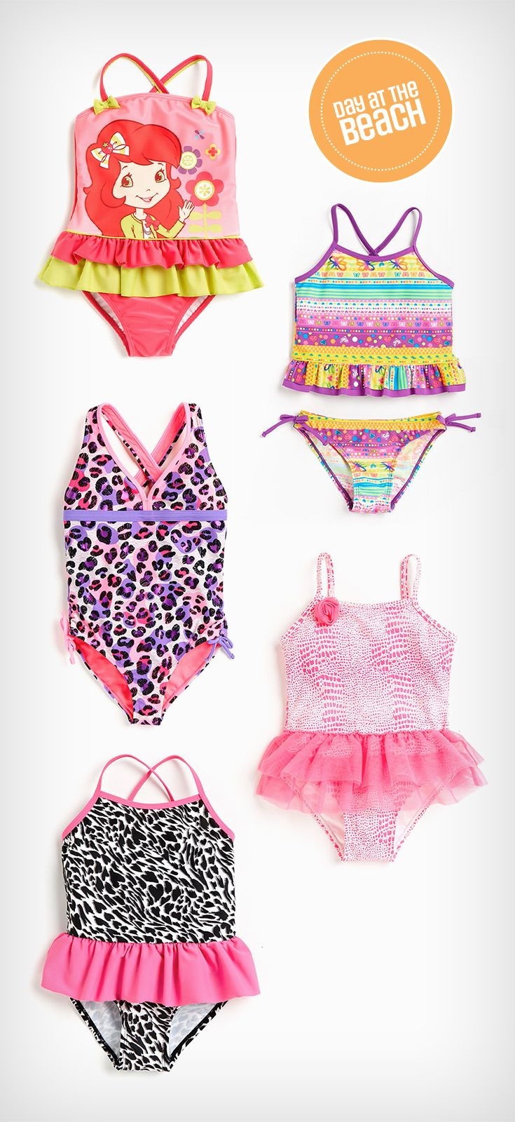 93bf0d5f5f4ad Make a splash in kids  swim fashion  Girl s 1-piece swimsuit