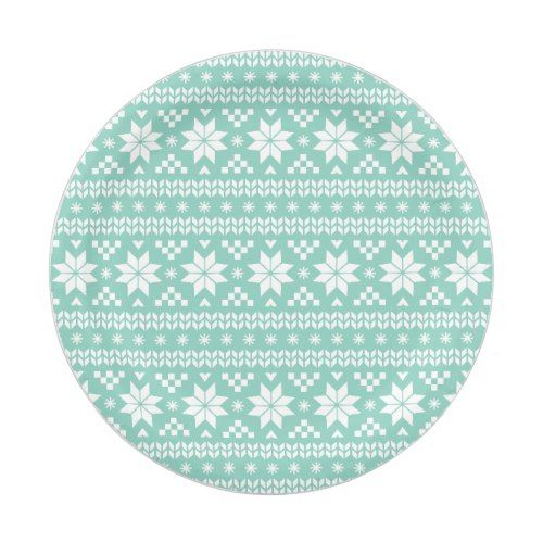 Aqua Fair Isle Christmas Sweater Pattern Paper Plate  sc 1 st  Pinterest & Aqua Fair Isle Christmas Sweater Pattern Paper Plate | Christmas ...
