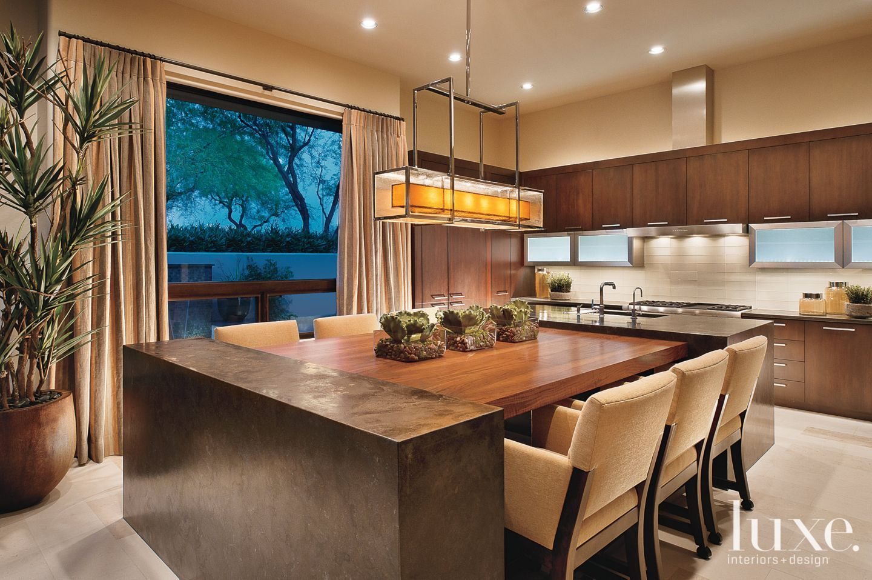 Gold List 2020 Designs By Sundown Luxe Interiors Design Kitchen Island Dining Table Kitchen Island Table Combination Kitchen Interior