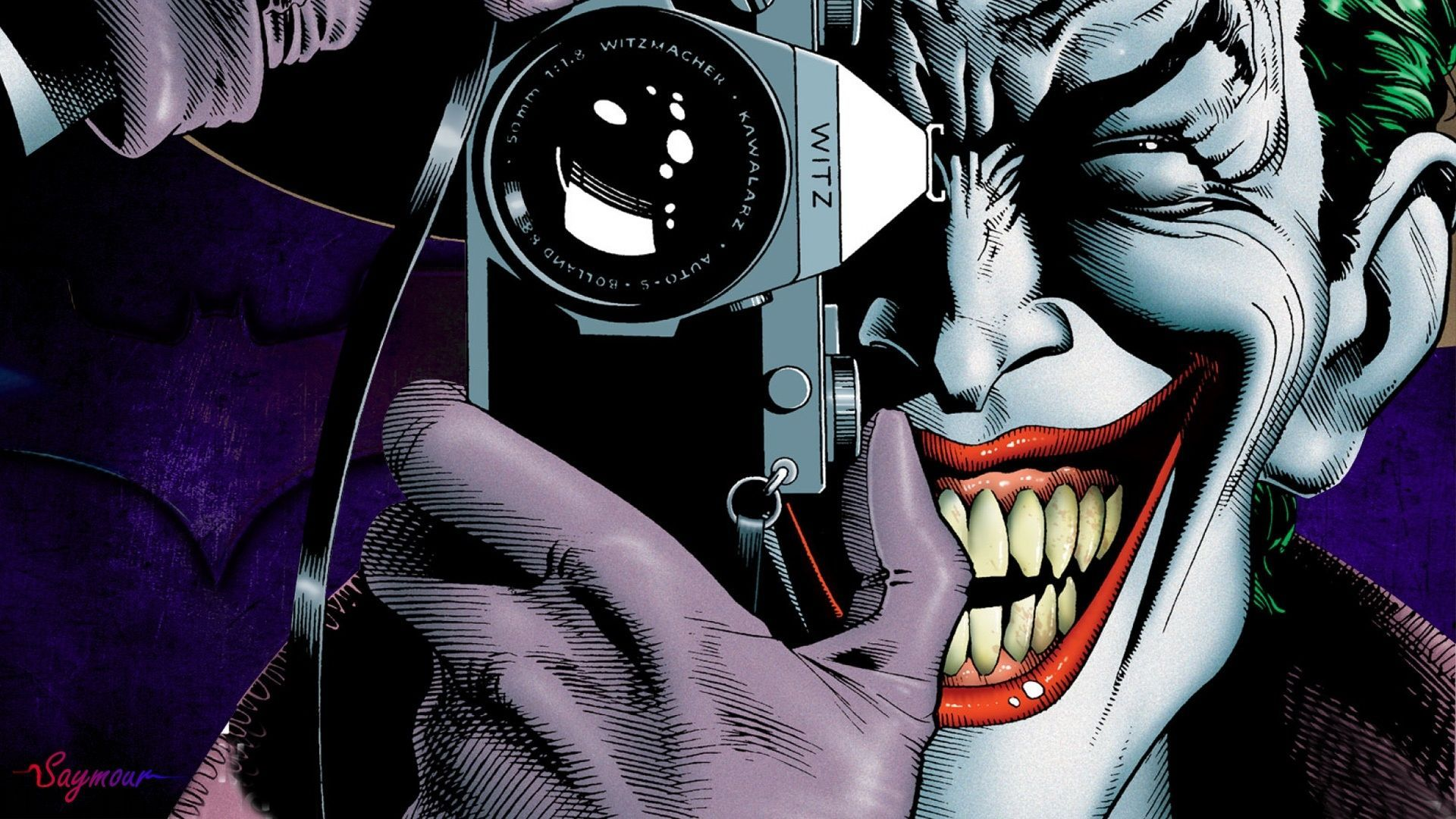Joker Wallpaper 9083 Widescreen Background Wallsteyn