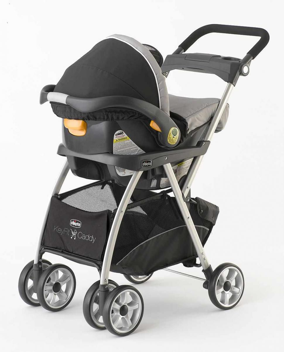 Chicco Double Pram Chicco Keyfit Caddy Passeggini