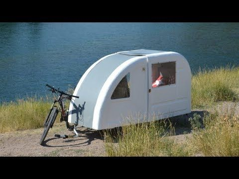 Wide Path Camper The Foldable Camper Can Be Towed By Bicycle
