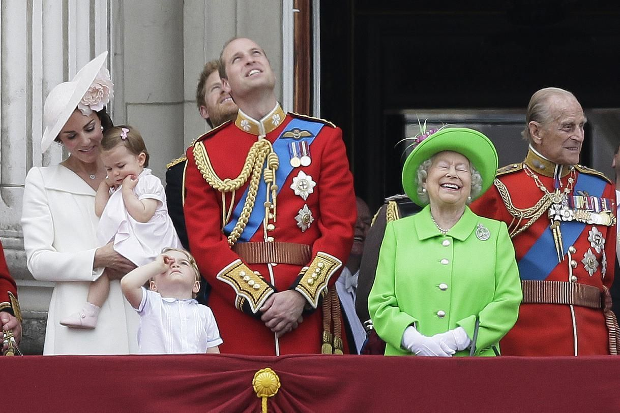 LONDON (AP) — Queen Elizabeth II and her family marked her official ...