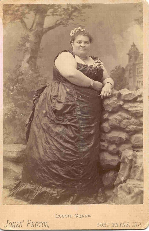 Fat victorian redhead