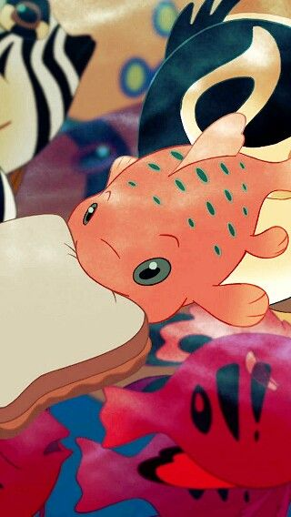 Pudge the fish lilo and stitch pinterest patos for Pudge the fish