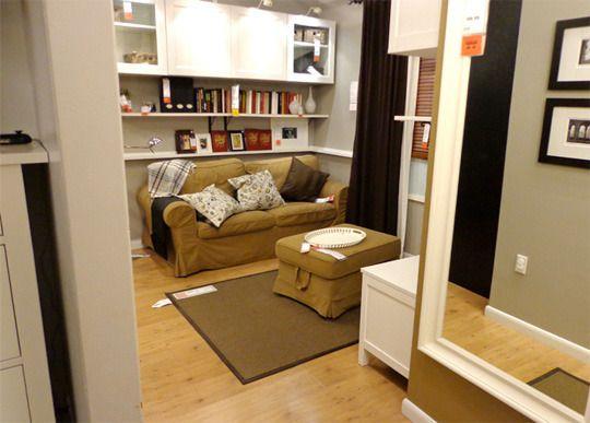 A Look at IKEA Brooklyn\u0027s Tiny 391-Square-Foot Model Apartment