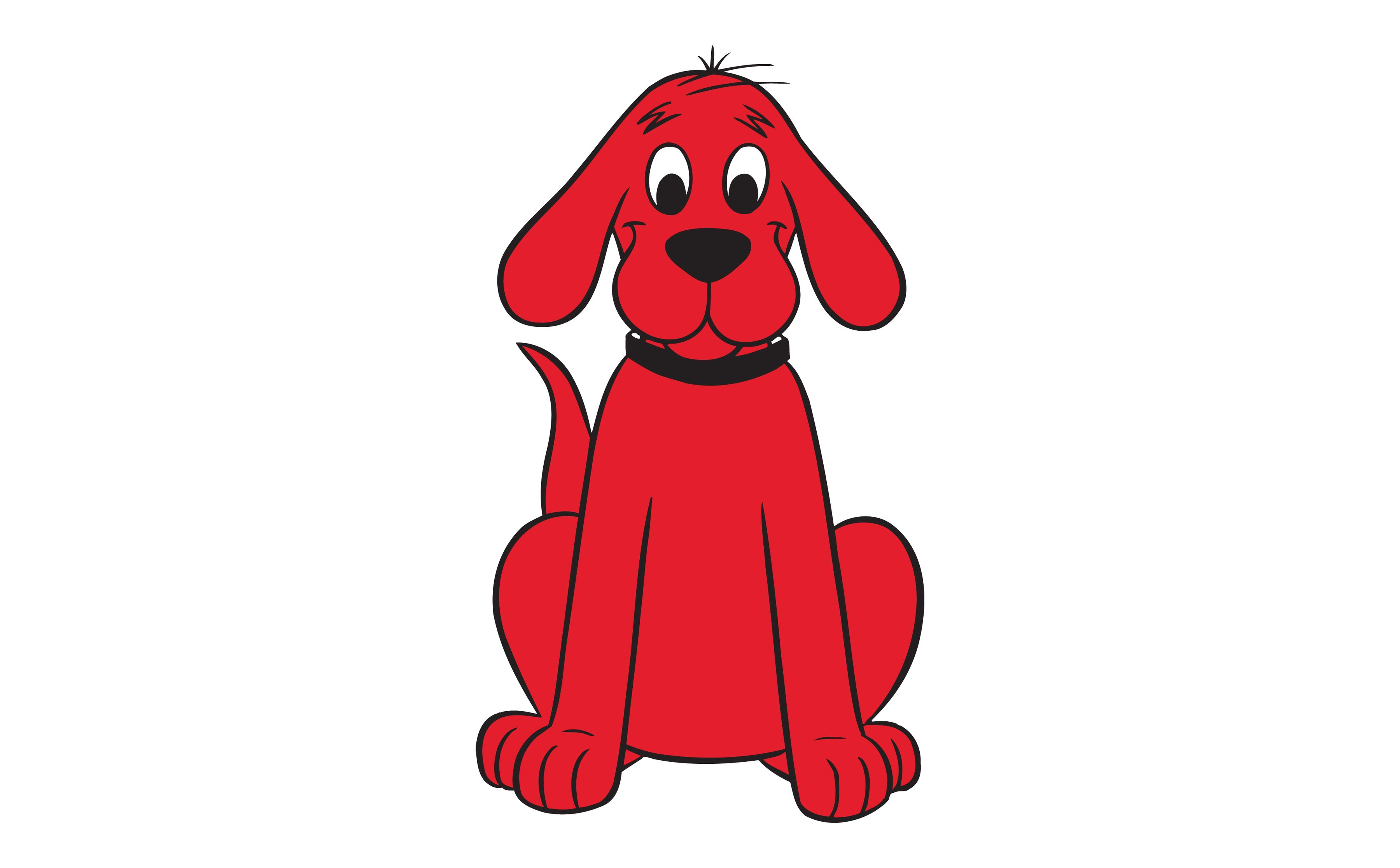hight resolution of clifford big red dog clipart free clip art images